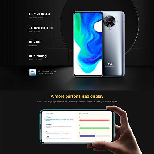 "Xiaomi Poco F2 Pro 5G - Smartphone 6.67"" AMOLED, 6GB RAM, 128GB, 64MP, Cyber Gray"