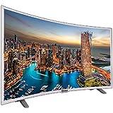 Nobel 55 Inch 4K UHD, Curved, Smart LED TV, Silver - UHDC5500S3