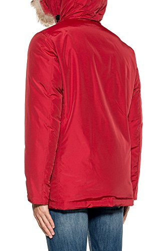 Rosso Uomo Outerwear Woolrich Giacca Wocps2586cn03red Cotone a1Ppq7