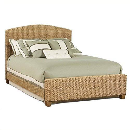 Home Styles 5401-400 Cabana Banana Queen Bed, Honey Finish