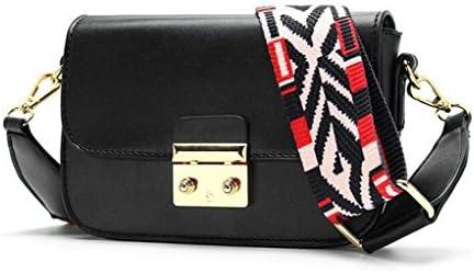 Ms.ファッションパーティーバッグダブルショルダーバッグレディースバッグハンドスリングショルダーバッグ (Color : Black)