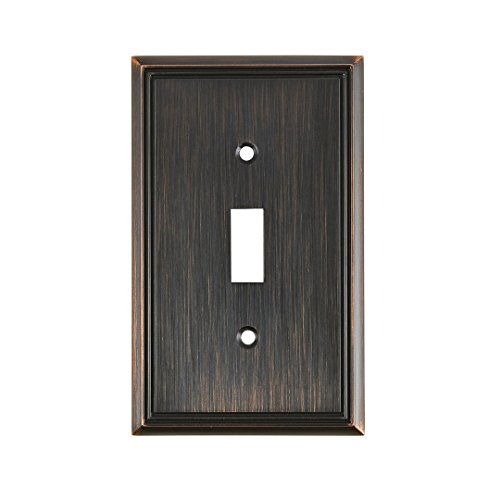"OQO Contemporary Style 1 Toggle Entry Switch Plate, 4.97""..."