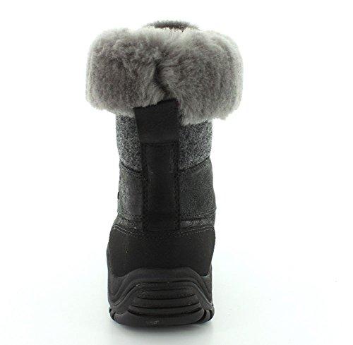 Ugg Kvinners Adirondack Boot Ii Sort Skinn