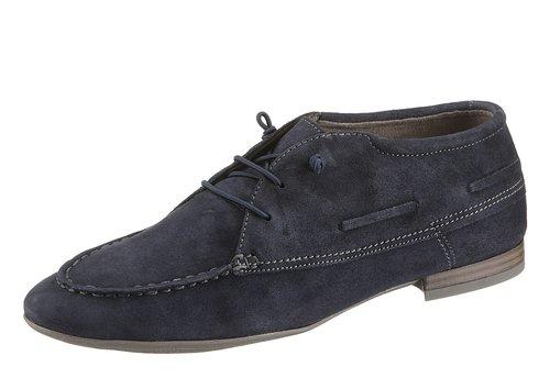 Tamaris , Chaussures de ville à lacets pour femme bleu bleu 37