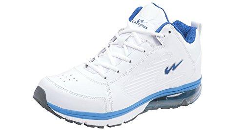 Campus AIR-Ride Men White Sports Shoes