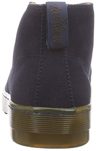 Dr. Martens Mayport Twill Canvas Navy, Men's Unlined Desert Boots Short Length Blue (Navy 410)