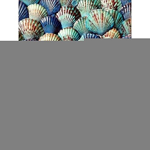 Norbi Painting With Diamonds, Seashells Embroidery Diamond by Number Kits Rhinestone Painting Cross Stitch Kit Wall Art Decor for Kids Adult - Embroidery Shell