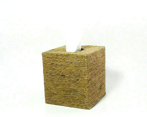 (Recycled Jute Rope Tissue Box)