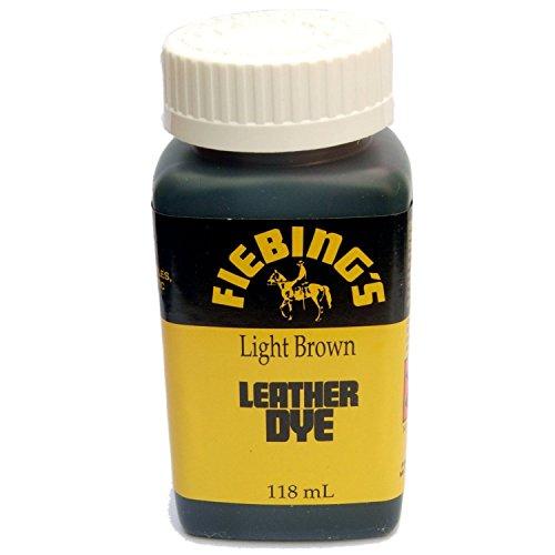 Fiebing's Leather Dye w/ Applicator 4 oz. (Light - Light Dye Leather