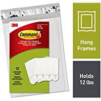 Command by 3M Medium Picture Hanging Strips, No Tools or...