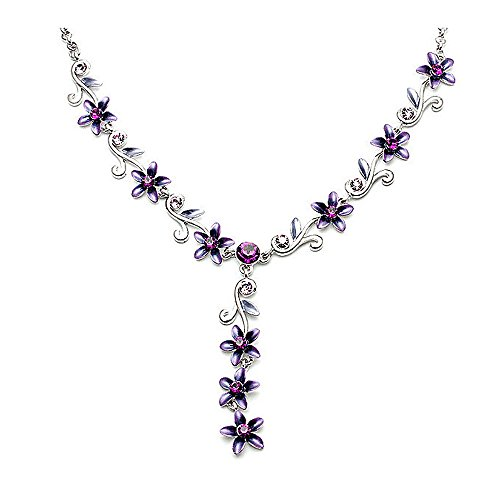 Glamorousky Purple Flower...