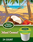 Green Mountain Coffee Island Coconut K-cup Coffee 96 Count (4 boxes of 24 K-Cups each)