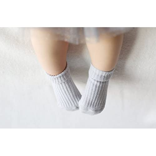 Baby Socks Gift Set - Unique Baby Shower or Newborn Present | Cute Quotes 4 Pair