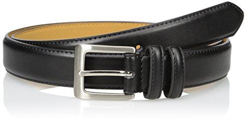 Status Men's 11/4 Inch Top Grain Leather Dress Belt, Black, 36