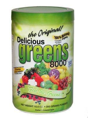 8000 greens - 3