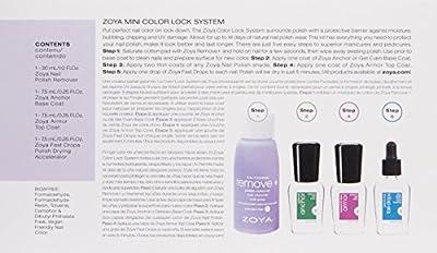 ZOYA Mini Color Lock System Manicure Kit