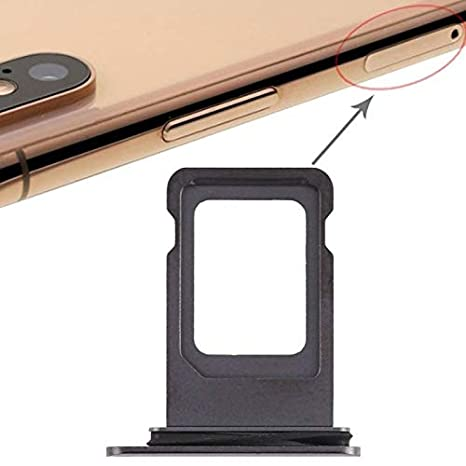 Soporte De Tarjeta Sim De Apple iPhone XS MAX Negro Ranura ...