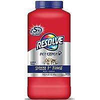 Resolve Pet Formula Carpet Cleaner Moist Powder 18 oz (Pack of 4)