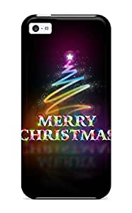 Brandy K. Fountain's Shop Best Perfect Fit Merry Christmas Abstract Case For Iphone - 5c