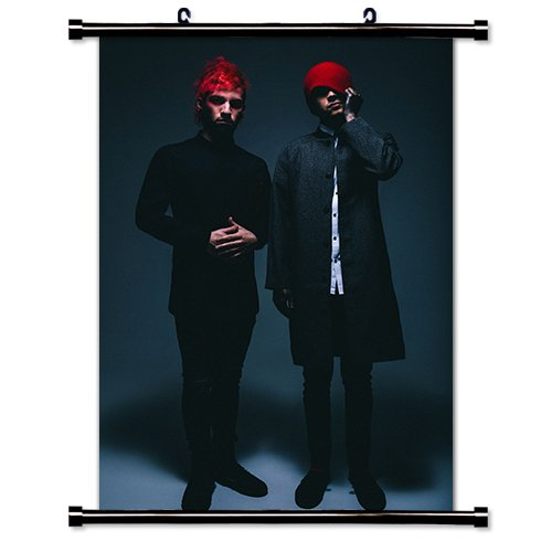 Twenty One Pilots Music Band Fabric Wall Scroll Poster  Inch