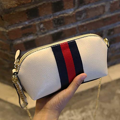 Small Strap White Wallet Metal Cross Purse with Bag Side Purse women for Handbag Body Wristlet Cell Chain Phone BxnrqBYp