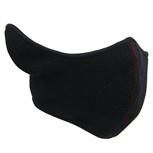 Kid Boy Girl Half Face Mask Child Reversible Fleece Ear Warmer Children Warmth Helmet Liner with Ventilation Holes for Winter Cycling Skate Skateboard Roller Skating Snowboard Ski - Skating Snow