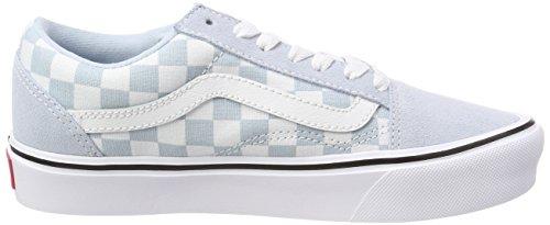 Suede Vans Lite Blu Adulti Canvas Sneaker Skool Old Unisex rqqExcCA0w