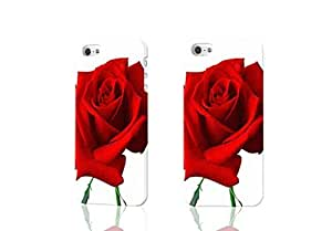 Red Rose 3D Rough iphone 4 4S Case Skin, fashion design image custom iPhone 4 4S , durable iphone 4 4S hard 3D case cover for iphone 4 4S, Case New Design By Codystore