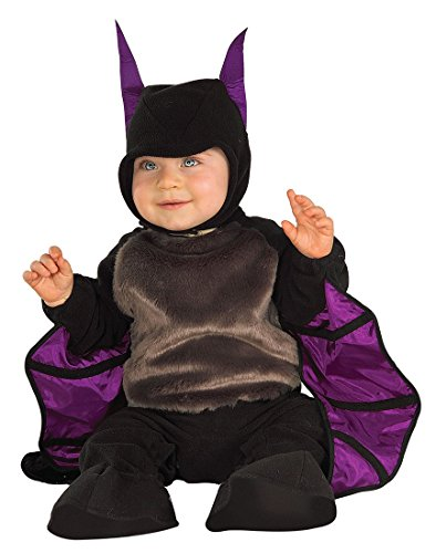 Bat Themed Costume (Infant Little Bat Costume by Rubies Costume Company - Size 1 to 2 Years)