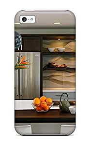 Fashionable Style Case Cover Skin For Iphone 5c- Family-friendly Kitchen Island