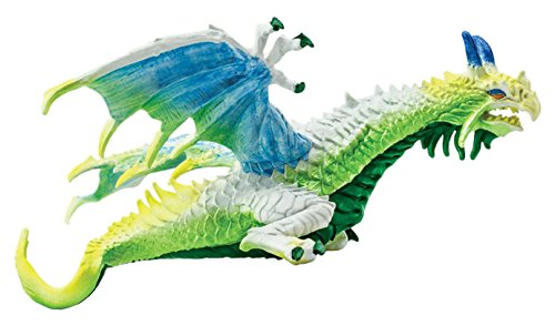 Safari Ltd. Haze Dragon - Realistic Hand Painted Toy Figurine Model - Quality Construction from Phthalate, Lead and BPA Free Materials - For Ages 3 and Up
