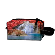 Erawan Waterfall Carry Printing Storage Bag Fashion