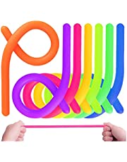 Sensory Stretchy Strings Colorful Stretchy Noodles Stress Relieve