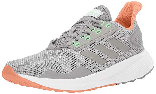 adidas W Duramo 9 Gry/Gry/Coral Running Shoes (BB7006)