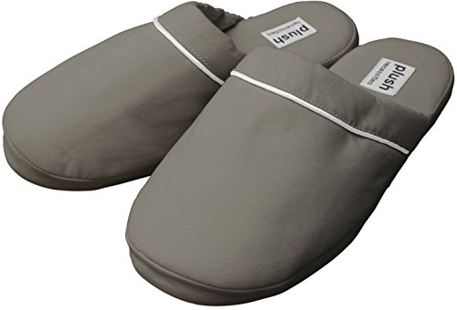 The Luxe Slippers - Brushed Microfiber Slippers, Sandstone, S/M