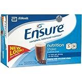 Ensure Nutrition Drink Chocolate Bottles 24 X 8oz Case