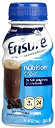 Ensure Original Nutrition Shake Dark Chocolate - 6 CT