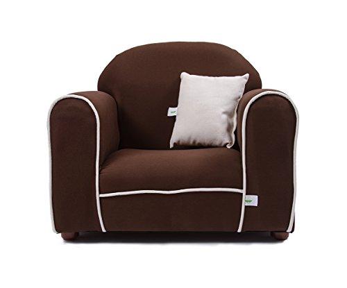 - Fantasy Furniture Premium Organic Children's Chair, Brown