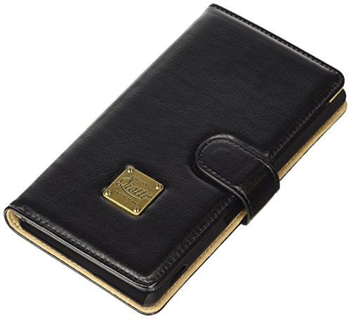 QIOTTI Q. Book Classic Premium Eco Étui Livret en cuir synthétique pour Sony Xperia Z4–Noir