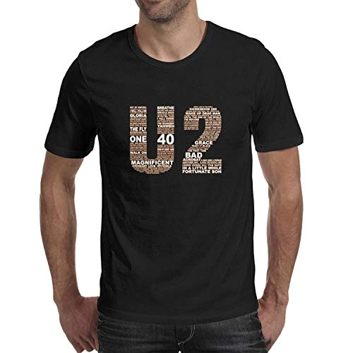 Used, Happiopp Tshirts for Irish-Rock-Band-Music-U2-Art-Cool for sale  Delivered anywhere in USA
