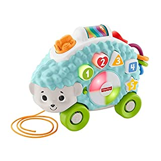 Fisher-Price GHR16 Linkimals Happy Shapes Hedgehog, Interactive Baby Toy with Lights and Sounds