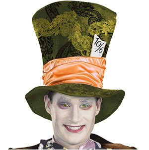 Mad Hatter Movie Hat (Movie) (As Shown;One Size)