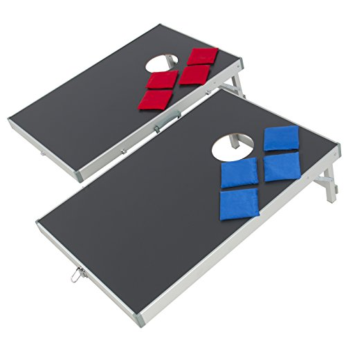 Best Choice Products Cornhole Bean Bag Toss Game Set With