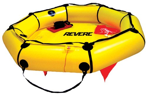 Revere Coastal Compact 4 Person Liferaft with Valise