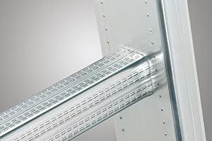 Hailo ProfiStep-Uno - Escalera industrial 1 tramo de aluminio (6 peldaños): Amazon.es: Bricolaje y herramientas