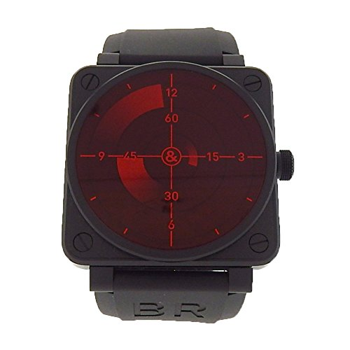 Bell-Ross-BR-01-92-automatic-self-wind-mens-Watch-BR01-92-Red-Radar-Certified-Pre-owned
