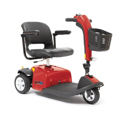Rascal 3 Wheel Scooter Color: Red