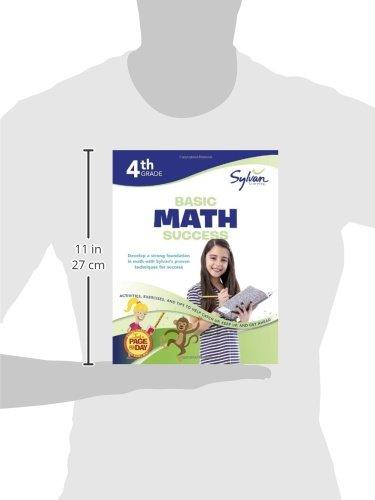 Fourth Grade Basic Math Success (Sylvan Workbooks) (Sylvan Math ...