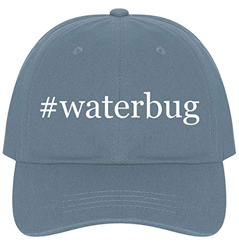 The Town Butler #Waterbug - A Nice Comfortable Adjustable Hashtag Dad Hat Cap, Light Blue