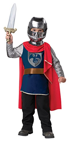 Medieval Knight Child Dragon Costumes (California Costumes Gallant Knight Toddler Costume,)
